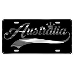 Country Names License Plates